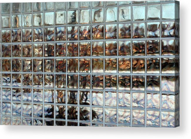 Modern Photgraphy Acrylic Print featuring the photograph Fractured Reflections by Scott Heister