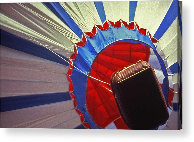 Tennessee Acrylic Print featuring the photograph Hot Air Balloon - 1 by Randy Muir