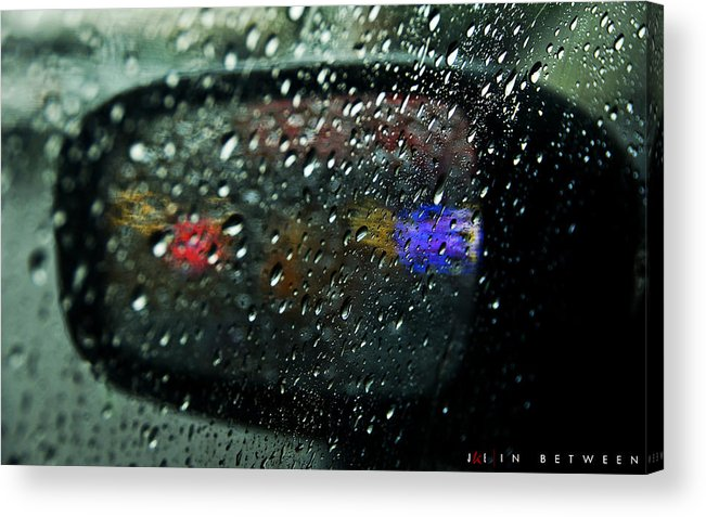 Sideview Mirror Acrylic Print featuring the photograph In Between by Jonathan Ellis Keys