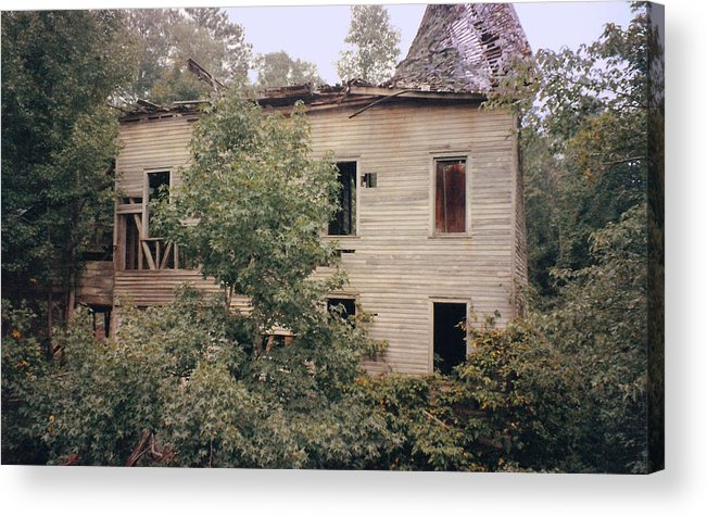 Pat Turner Acrylic Print featuring the photograph It Was A Mill by Pat Turner
