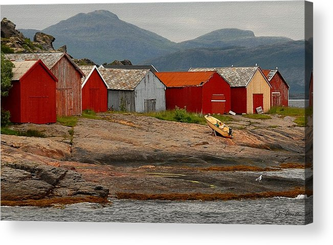 Norway Acrylic Print featuring the photograph Norwegian Coast No. 3 by Joe Bonita