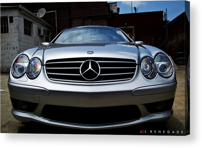 Mercedes Acrylic Print featuring the photograph Renegade by Jonathan Ellis Keys
