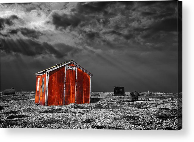 Corrosion Acrylic Print featuring the photograph Rusting Away by Meirion Matthias