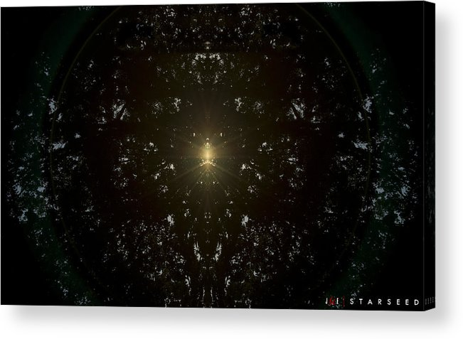Sun Acrylic Print featuring the photograph Starseed by Jonathan Ellis Keys