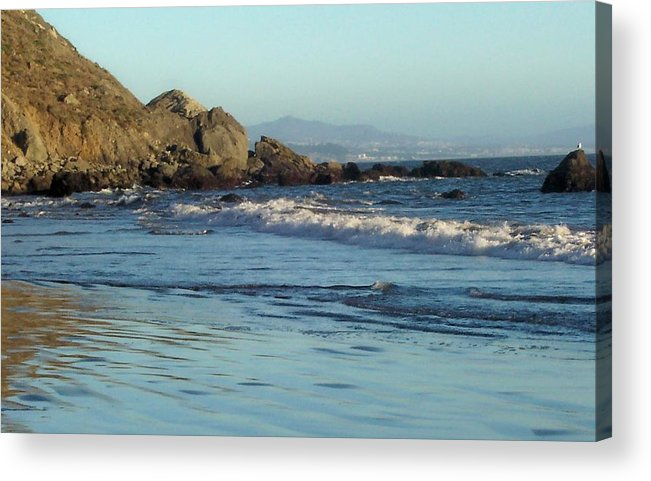 Beach Acrylic Print featuring the photograph The Beach 2 by Elizabeth Klecker