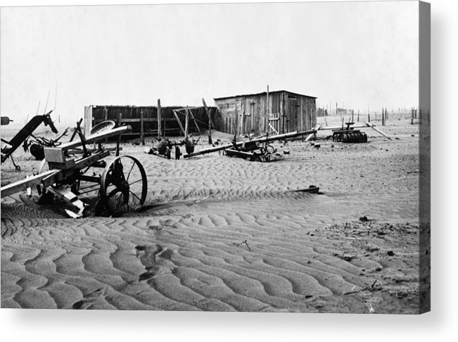 1930 Acrylic Print featuring the photograph Dust Bowl, C1936 by Granger