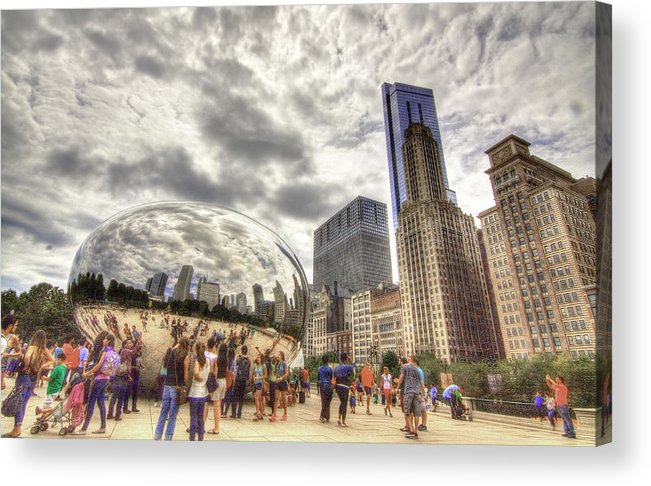 Bean Acrylic Print featuring the photograph Bean - Looking South by Greg Thiemeyer