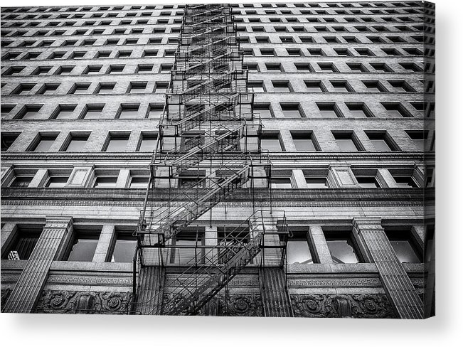 Fire Escape Acrylic Print featuring the photograph Escape by Scott Norris
