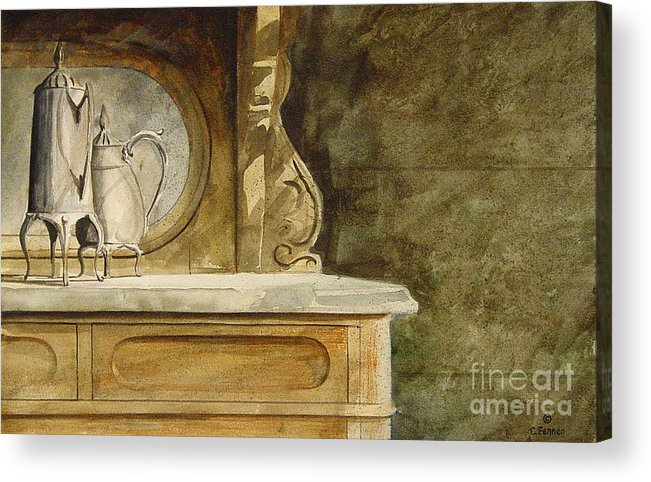Inheritance Acrylic Print featuring the painting My Inheritance by Charles Fennen
