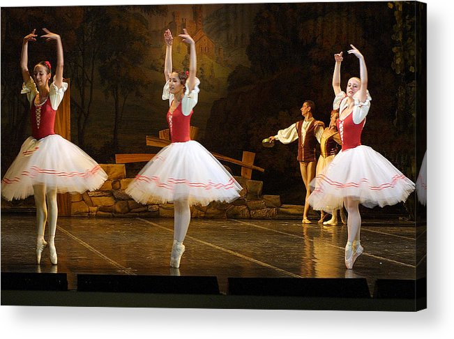 Travel Acrylic Print featuring the photograph On Point Russian Ballet by Linda Phelps