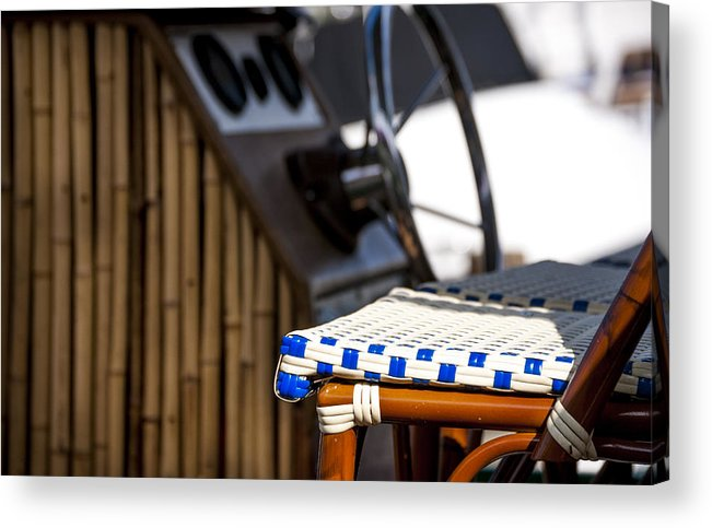 Boat Acrylic Print featuring the painting Party Boat by Robert Smith