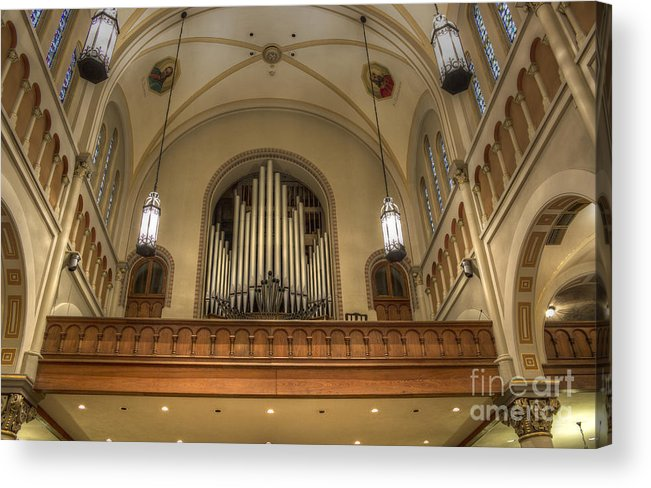 Lights Acrylic Print featuring the photograph Sounds For Heaven by Cynthia Broomfield