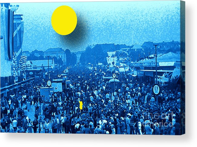Octoberfest Acrylic Print featuring the photograph The One by Jeff Breiman