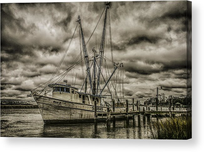Storm Acrylic Print featuring the photograph The Storm by Steven Taylor
