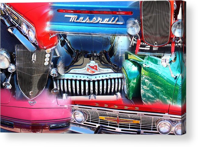 Autos Acrylic Print featuring the photograph Time Travel Part 3 by Van Ness
