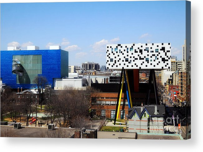 Toronto Acrylic Print featuring the photograph Art Institutions In Toronto by Charline Xia