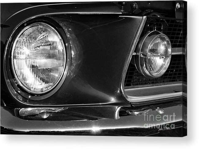 Grill Acrylic Print featuring the photograph Burnt Rubber by Luke Moore