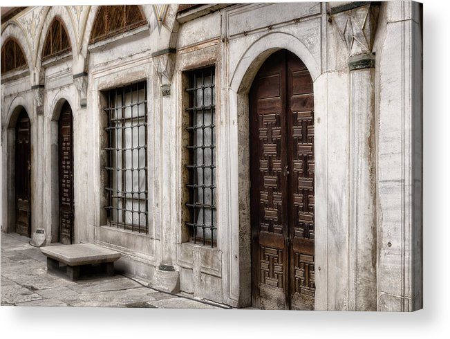 Ancient Acrylic Print featuring the photograph Concubine Court by Joan Carroll