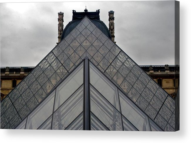 Paris Acrylic Print featuring the photograph Geometry by Justin Robertson