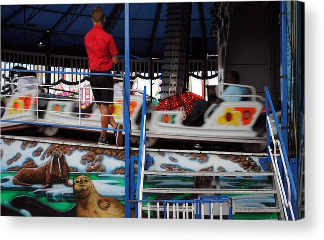 Fair Acrylic Print featuring the photograph Management by Skip Willits