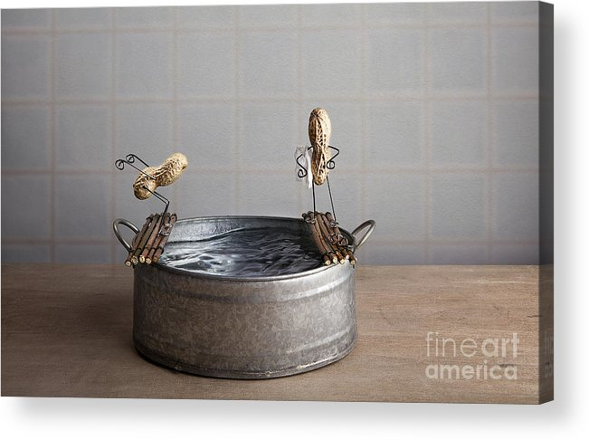 Pool Acrylic Print featuring the photograph Swimming Pool by Nailia Schwarz