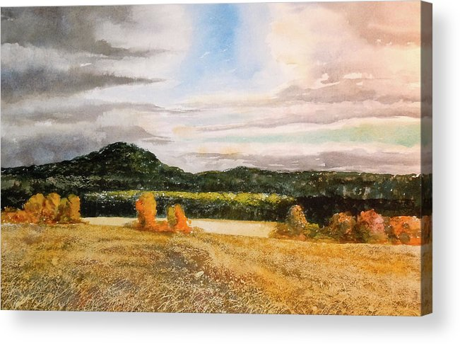 Acrylic Print featuring the painting Townsend Field IIi by Harding Bush