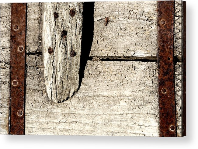 Nail Acrylic Print featuring the photograph Abstract by Apurva Madia