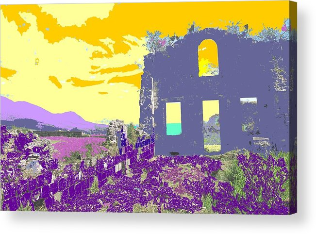 Brimstone Acrylic Print featuring the photograph Brimstone Sunset by Ian MacDonald