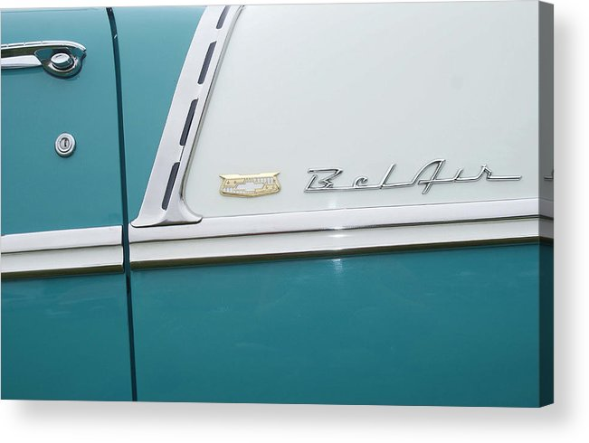 Acrylic Print featuring the photograph Classic Car No. 3 by Kyle Wilen