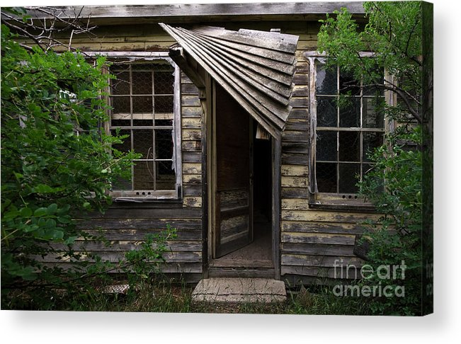 Building Acrylic Print featuring the photograph Lost Dreams 4 by Bob Christopher