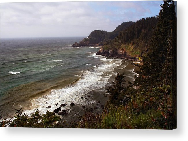Oregon Acrylic Print featuring the photograph Oregon Coast by Joanne Coyle