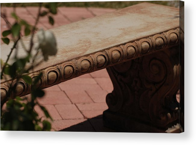 Quiet Acrylic Print featuring the photograph Quiet Place by Jean Booth