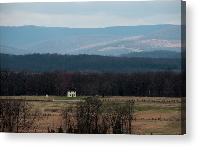 House Acrylic Print featuring the photograph Salt Box House by David Arment