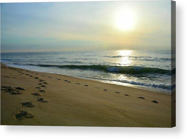 Ocean Acrylic Print featuring the photograph Separate Ways by Earl Telfair