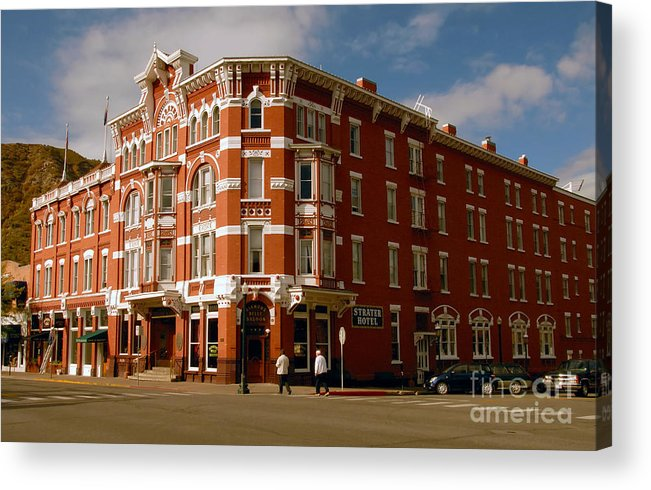 Strater Hotel Durango Colorado Acrylic Print featuring the photograph Strater Hotel 1887 by David Lee Thompson
