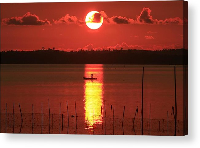 Sunrise Acrylic Print featuring the photograph Sunrise by Yuli Seperi