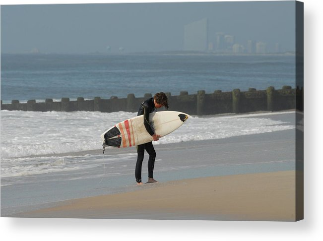Surfer Art Acrylic Print featuring the photograph Surfing 116 by Joyce StJames