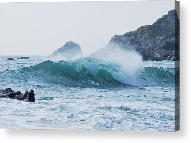 Wave Acrylic Print featuring the photograph Wave by FL collection