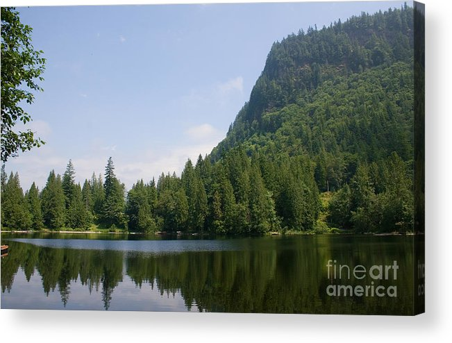 Lake Walker Acrylic Print featuring the photograph High Mountain Lake by Stacey Lynn Payne