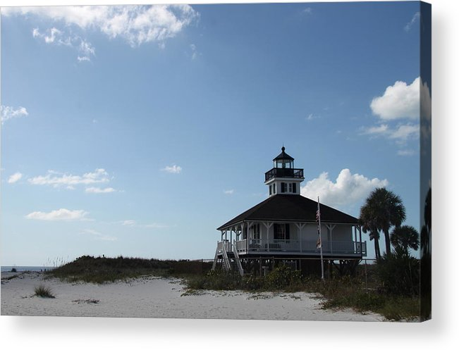 Boca Grande Acrylic Print featuring the photograph Boca Grande At Twiglight by Christiane Schulze Art And Photography