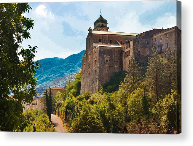 Casalvieri Acrylic Print featuring the photograph Casalvieri by Dany Lison