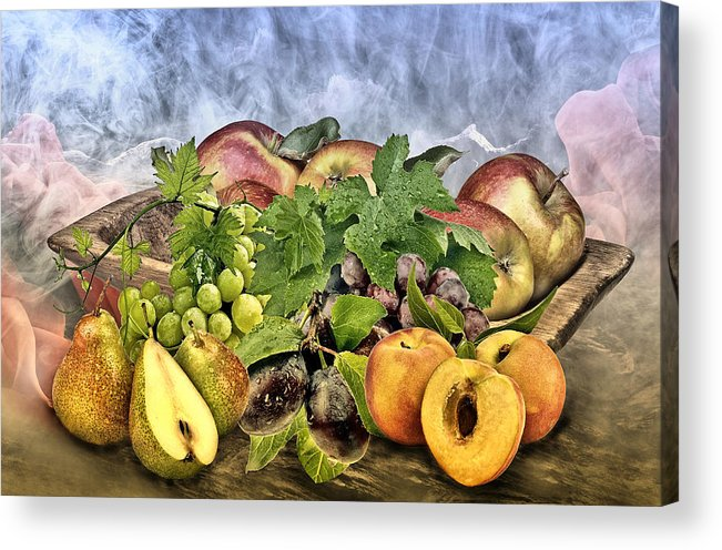 Nutrition Acrylic Print featuring the photograph Harvest by Manfred Lutzius