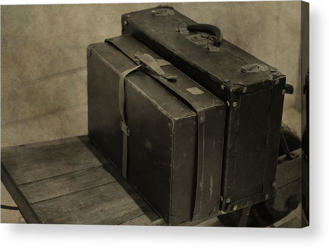 Packed And Ready To Go Acrylic Print featuring the photograph Packed And Ready To Go by Dan Sproul