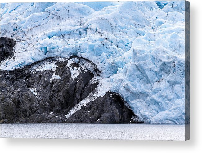 Alaska Acrylic Print featuring the photograph Portage Glacier Rretreat by Kyle Lavey