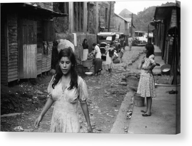 1942 Acrylic Print featuring the photograph Puerto Rico Slum, 1942 by Granger