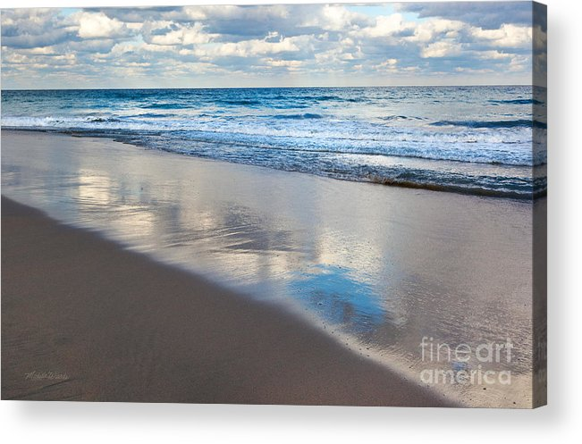 Self Reflection Acrylic Print featuring the photograph Self Reflection by Michelle Wiarda