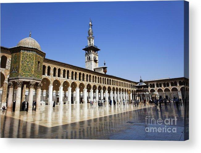 The Umayyad Mosque Damascus Syria Acrylic Print