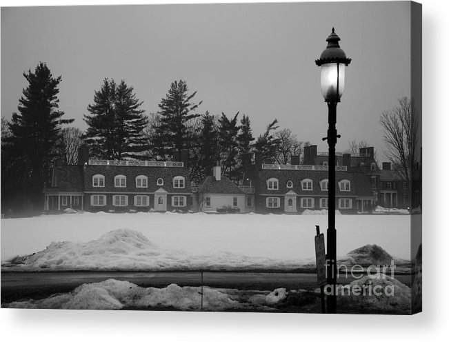 Wicked New England Photography Acrylic Print featuring the photograph Winter's Light by Michael Mooney
