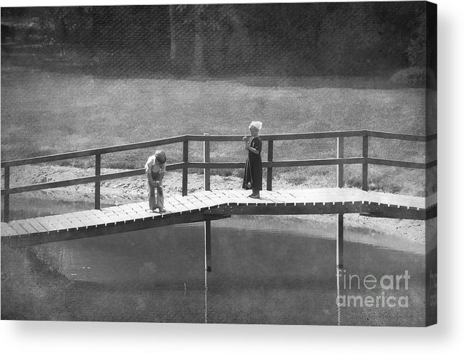 Amish Acrylic Print featuring the photograph Fishers by David Arment