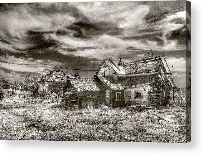 Kevin Felts Acrylic Print featuring the photograph Flora Houses by Kevin Felts